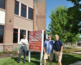 Fratzke Commercial Real Estate in Bend, OR Announces The Point Building is 100% Leased!